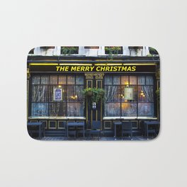 The Merry Christmas pub Bath Mat