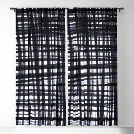 Brushed Check Blackout Curtain