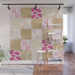 Spring Time - Patchwork Wall Mural