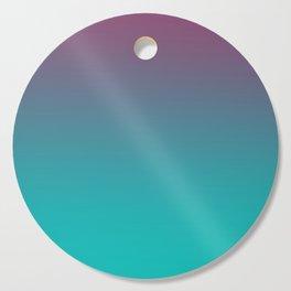 OCEANIC LOVE - Minimal Plain Soft Mood Color Blend Prints Cutting Board