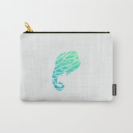 Elephant Sea Carry-All Pouch