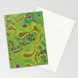 Purple Seaweed Stationery Cards