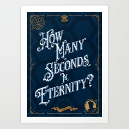 12 - Doctor Who Peter Capaldi Art Print