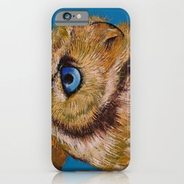 Gold Owl iPhone Case