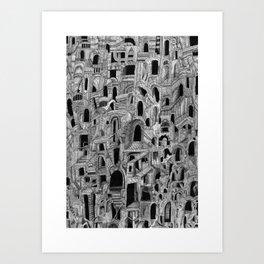 Catacombs Art Print