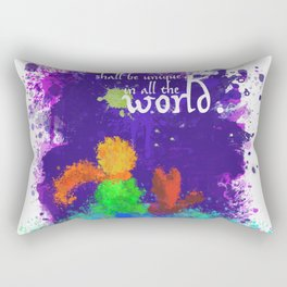 The Little Prince   Quotes   But if you tame me, then we shall need each other. Part 3 of 3 Rectangular Pillow