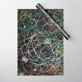 Wires.  Wrapping Paper