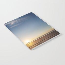 Beach Walk at Sunrise Notebook