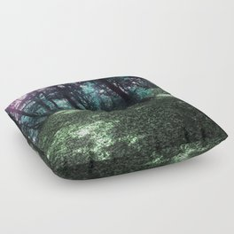 hometown forest Floor Pillow