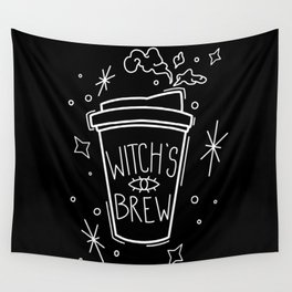 Witch's Brew Coffee Wall Tapestry