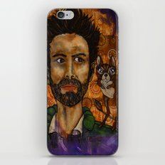Victor and the uninvited guest iPhone & iPod Skin