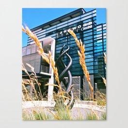 Future Train Station Canvas Print