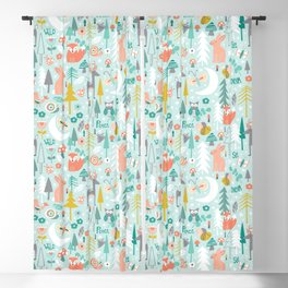 Forest Of Dreamers Blackout Curtain