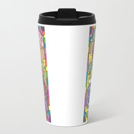Girl in Candy Land Doubled Travel Mug
