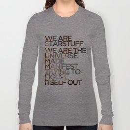 WE ARE STARSTUFF Long Sleeve T-shirt