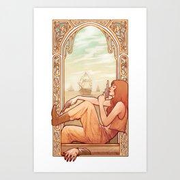 'Good Riddance' Art Print
