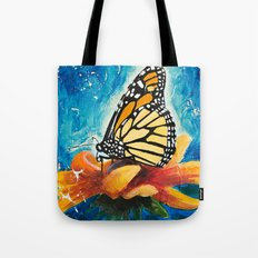 Butterfly - Discreet clarity Tote Bag