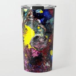 Cosmic Collision Travel Mug