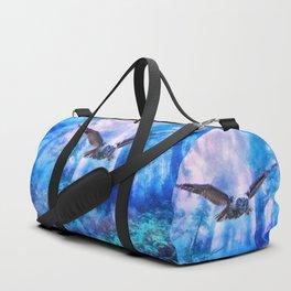Owl flight Duffle Bag