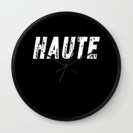 Haute - High Fashion inverse Wall Clock