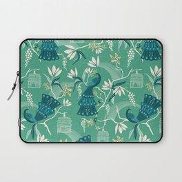 Aviary - Green Laptop Sleeve