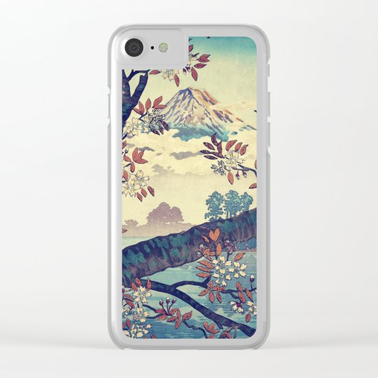 Suidi the Heights Clear iPhone Case