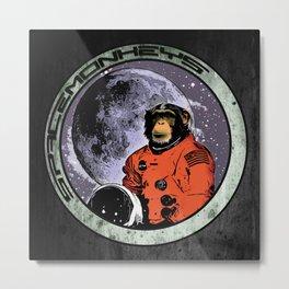 Space Monkeys Metal Print