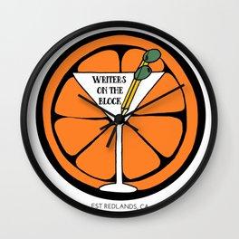 Writers on the Block Wall Clock