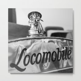 Locomobile Mascot  Metal Print