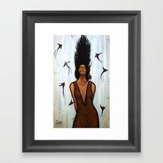 Dama Del Agua Framed Art Print