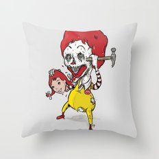 I'm luvin' it Throw Pillow