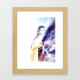 HAILMARY.  Framed Art Print