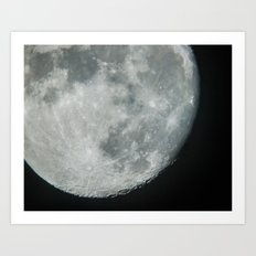 Moon 2 Art Print