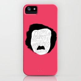 Edgar Allan Poe: Insanity iPhone Case