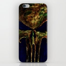 The Punisher #3 iPhone Skin