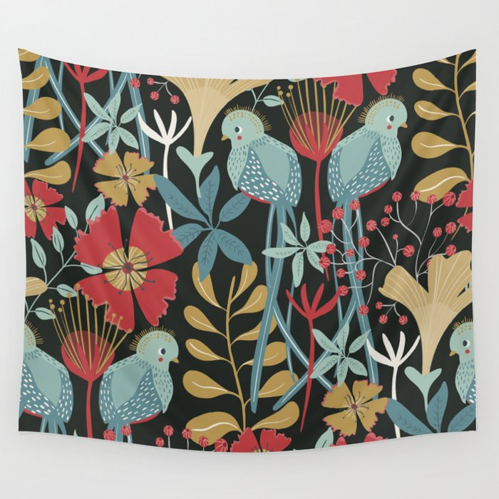 Quetzal Wall Tapestry