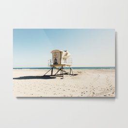 Huntington Beach Metal Print