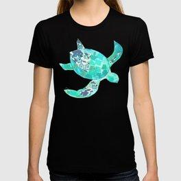 Ocean Blue Sea Turtle T-shirt