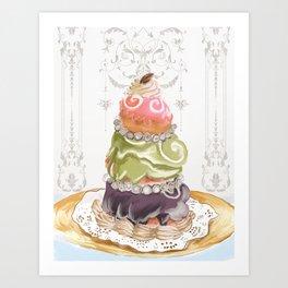 Budapest Pastry Shop Art Print