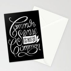 Quote of the day Stationery Cards
