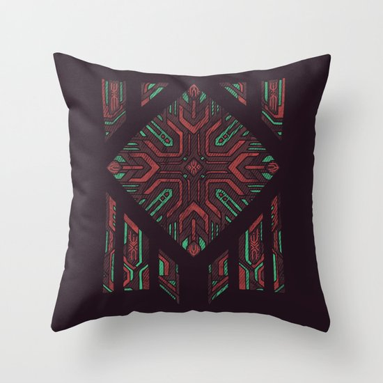 Compartmentalized Throw Pillow