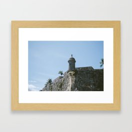el morro Framed Art Print