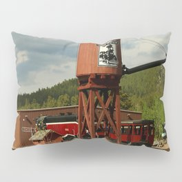 Water Tower Of The Black Hills Central Railroad Pillow Sham