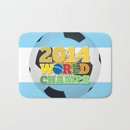 2014 World Champs Ball - Argentina Bath Mat