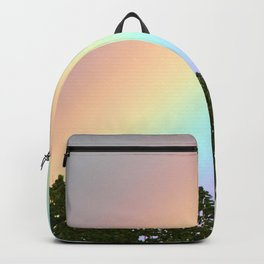 Pastel Natural Rainbow Backpack