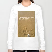 sand Long Sleeve T-shirts featuring sand by gasponce