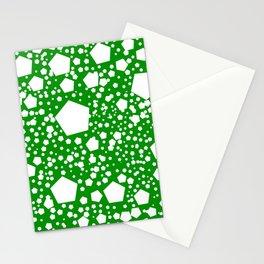 "Kalinka. ""Islam green"" color Stationery Cards"