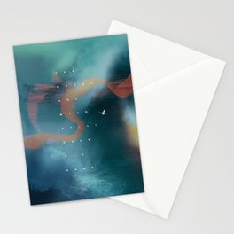 waves & wind Stationery Cards