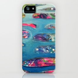 Ocean Commotion iPhone Case