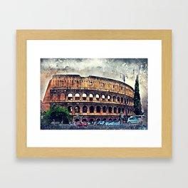 Colosseum Rome Framed Art Print